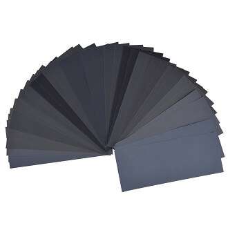36 Pieces 400 to 3000 Grit Sandpaper