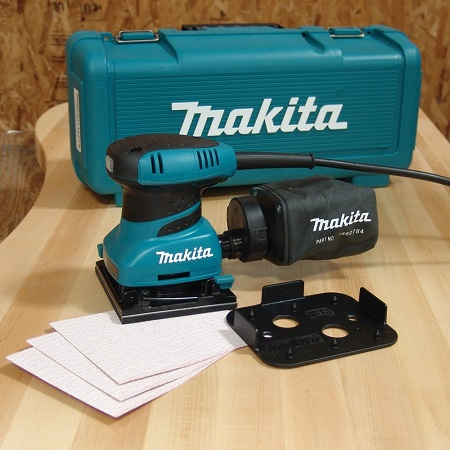 Makita BO4556K box sandpapers