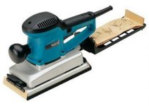 Makita BO4900V 2.9 Amp 1/2 Sheet Sander with Paper Dust Bag