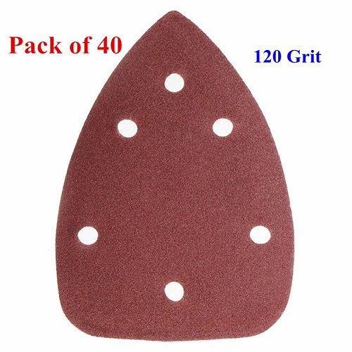 Pack of 40 Sanding Sheets